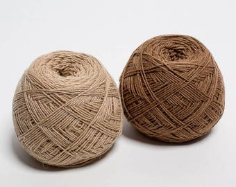 Temé - 100% camel wool undyed yarn -  95g ball
