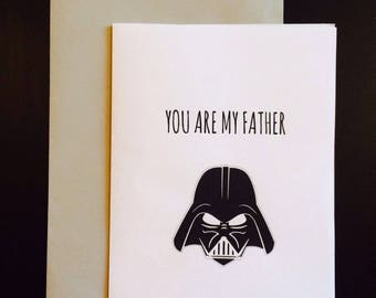 You Are My Father Card - Fathers Day Card