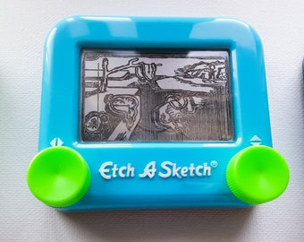 The Persistence of memory etch a sketch