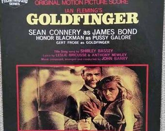 James Bond 007 - Goldfinger original soundtrack LP