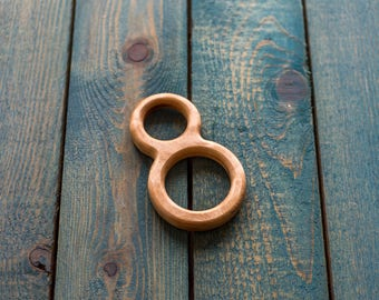 Wooden teether | Wooden toy