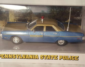Vintage WHITE ROSE COLLECTIBLES 4TH Pennsylvania State Police 72 Plymouth Fury