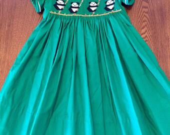 English Smocked dress