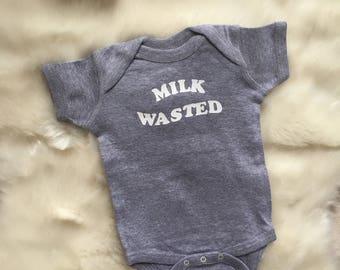 Milk Wasted Onesie
