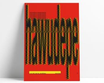 Visual Anarchy / Wizualne Bezprawie Poster