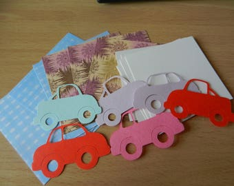 Make your own card kit : Cars