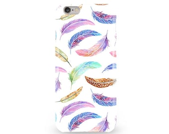 Feathers iPhone Case Iphone 6s Case iPhone 7 Plus Case Cute iPhone SE Case iPhone 6 Plus Case iPhone 5S Case iPhone 6 Cover iPhone 5C Case