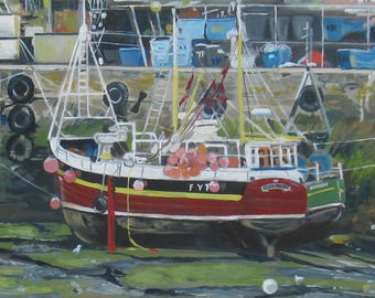 Mevagissey Fishing Boats