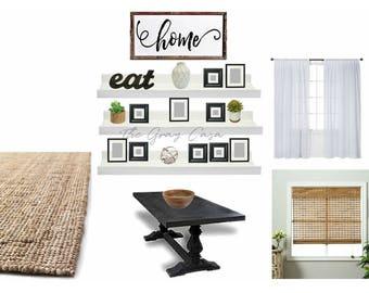 Dining Area | E-design | DIGITAL FILE