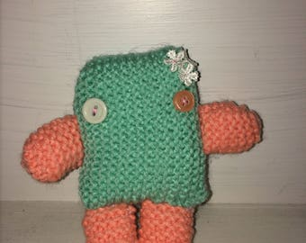 Inca the mini Knitted Monster