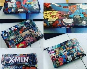 Comic book purse