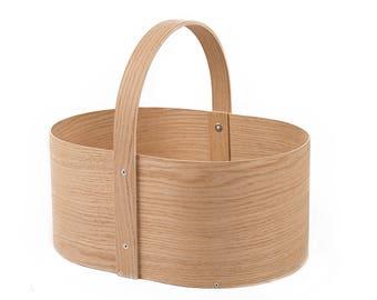 Oliver Wooden basket