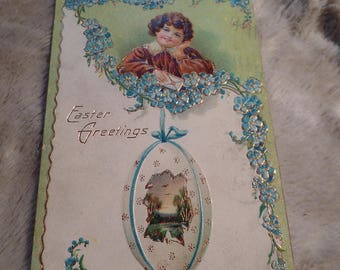 1909 Easter Post Card