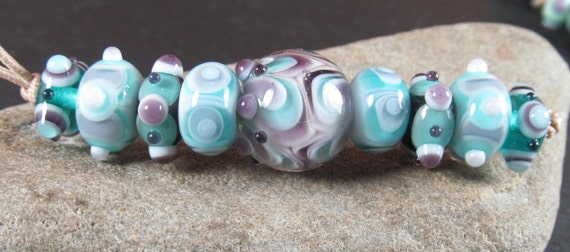 handmade glass beads