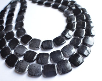 The Amber- Black Lucite Statement Necklace