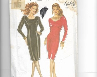 New Look Misses' Dress  Pattern 6498