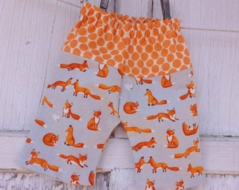 40% OFF- Whimsies Baby Loungers-Eco Friendly Pants-Foxy