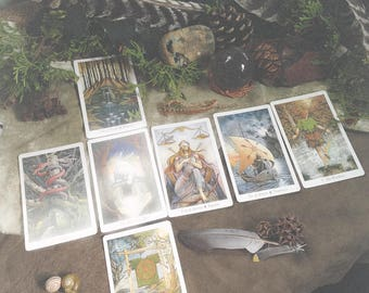 Wildwood Tarot Reading - Bow Spread - Divine Insight - Psychic Guidance - Spiritual Wisdom - Fortune Telling - Sent via Email