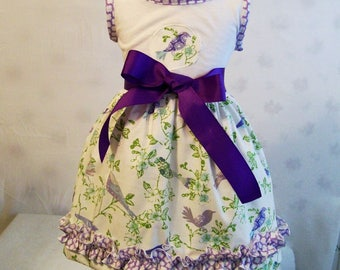 Girls Dress, Knit Top Dress, Girls Dresses, Baby Girls Dress, Toddler Girls Dress, Big Girls Dresses, Girls Clothing, USA Made, #165