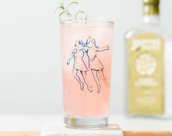 Zodiac Constellation Glassware - Screen printed collins glass