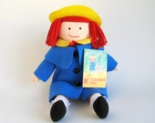 Vintage Madeline Doll by Eden 1990s Toys with Original Paper Tag