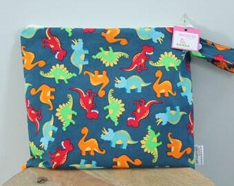 Wet Bag wetbag Diaper Bag ICKY Bag wet proof dino dinosaur gym bag swim cloth diaper accessories zipper gift newborn baby child kids summer