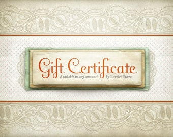 Lorelei Eurto Jewelry Gift Certificate