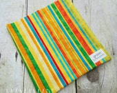 Citrus Stripe - Reusable Sandwich Bag | Snack Bag | Waterproof | Travel Bag from green by mamamade