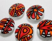 5 Spring Needs To Happen hand painted ceramic knobs