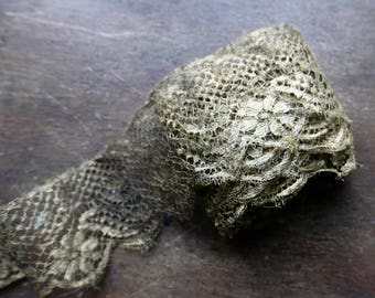Antique Metallic Gold Lace
