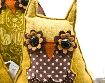 Owl Plush Toy - Small