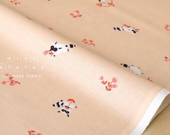 Cotton + Steel Yours Truly - tanuki - peach - fat quarter