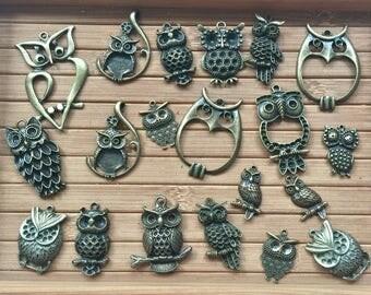 Mixed of owls (20 pcs)