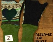 Reserved for Pickle - Fingerless Mittens