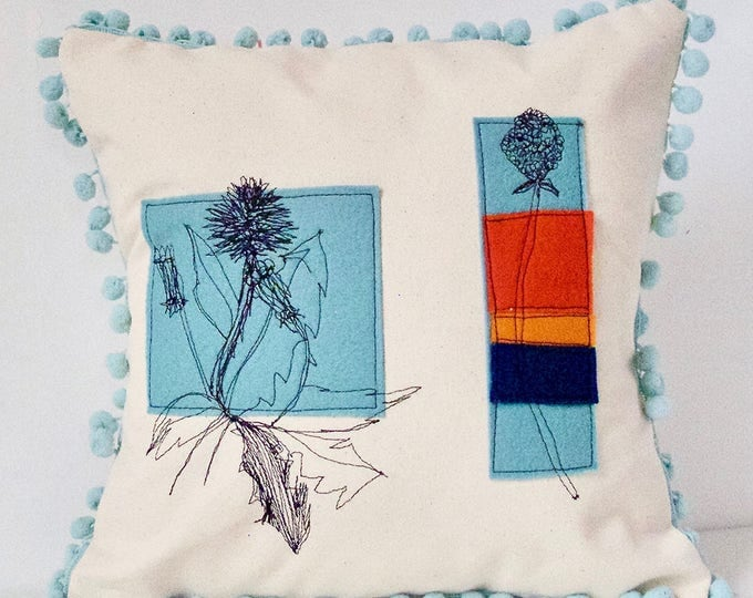 Featured listing image: Dandelion and CloverPillow