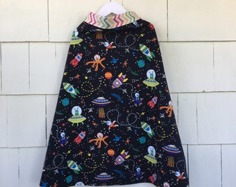 Outer Space | Glow In The Dark Stars | Rockets | Science Superhero | Dress Up Costume | Science Gift  | STEM Gift | Stem Clothing | Geekery