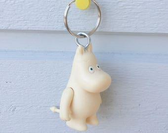 Keyring keyfob bag charm with Moomin
