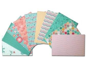 Elephant Cardstock, 4x6 Card Fronts, 4x6 Cardstock, Elephant Pocket Page Cards, 4x6 Cardstock, Patterned Paper, Garden Paper, Flower Paper