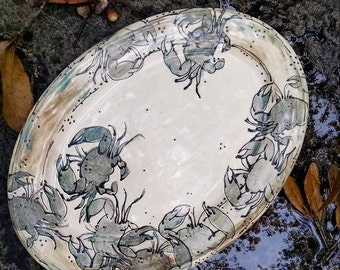 Blue Crab Platter - Large