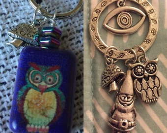 Freaks Combo - Owl Charm & CRB Inspired Necklace Special