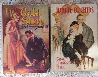 Two Vintage Romance Books by Grace Livingston Hill