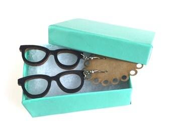 Nerdy Eye Glasses Earrings