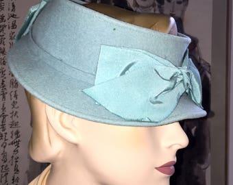 Antique Doeskin Felt Hat