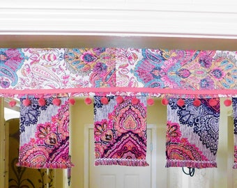 Boho Door Toran Window Valance