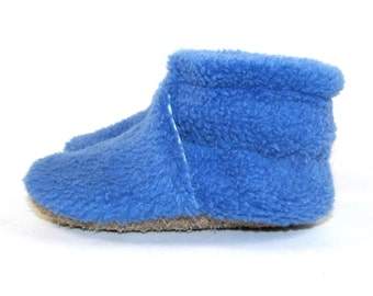 Infant Newborn Fleece Baby Shoes Slippers by KaBoogie