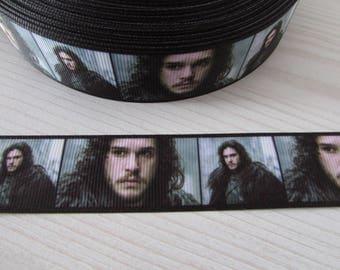 Jon Snow Game of Thrones Grosgrain Ribbon x 1 metre