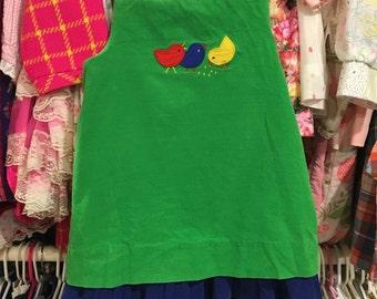 Reversible Corduroy Dress 3T