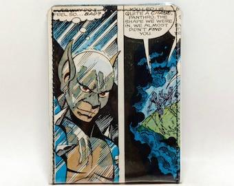 VINYL Vintage Comic Book Wallet - Thundercats - Panthro Design 1