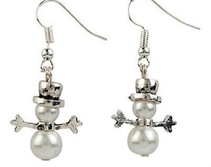 Let's Make A Snowman Earrings