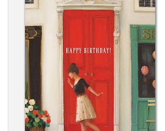 Hopscotch. Birthday Card. SKU JH1113